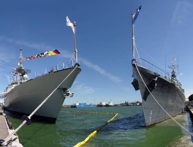 Canadian Navy - HMCS Haida