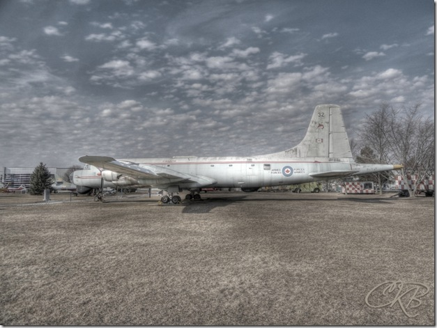 National Air Force Museum of Canada,Argus,CP-107,Canadair,history,Quinte West,HDR