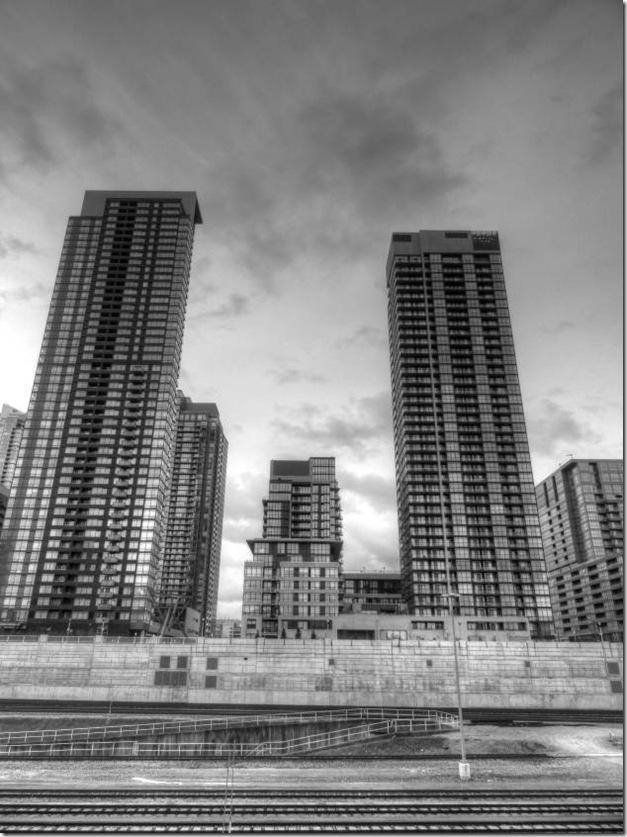 Toronto, CN Tower, Rail,Construction,high rise