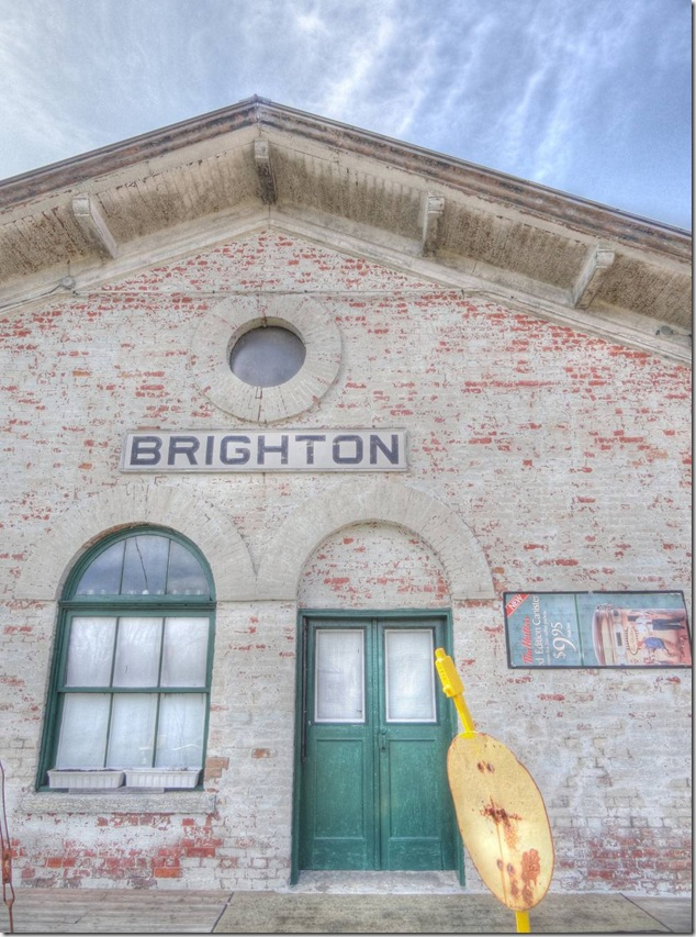 Brighton,rail,CN,CP,history,museum,Memory Junction