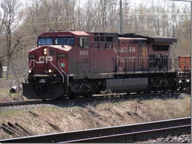 Canadian Pacific,CP,trains,railway,railroad,VIA,Canadian National,VIA 6408,CP 8231,CP 9583,CP 8203