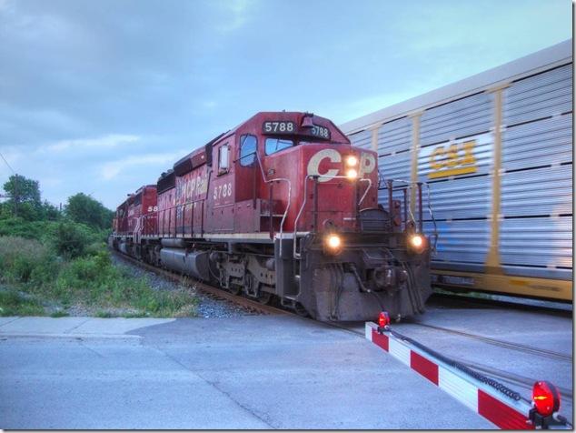 CEFX 1019, CP 5788, CP 5879 and CP 9516,Candian Pacific,Trenton,trains,rail,locomotives