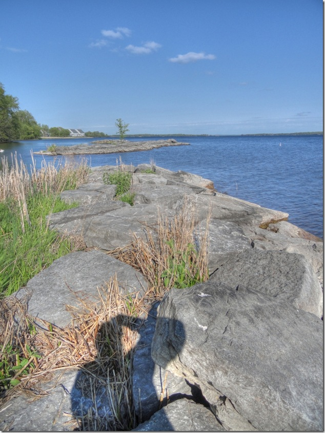 Ontario,Belleville,photography,Bay of Quinte,stone,water,nature,self portrait,water front trail