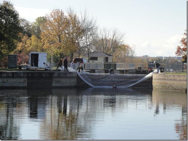 Trent-Severn Waterway National Historic Site of Canada,Glen Miller,Frankford, Quinte West,coffer dam