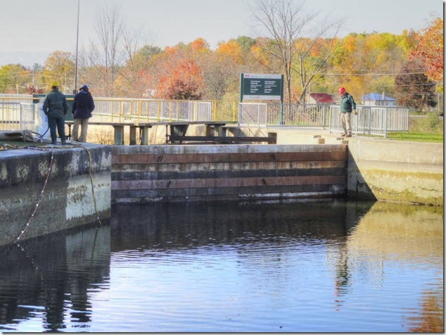 coffer dam, frankford, Glen Miller, Quinte West, Trent-Severn Waterway National Historic Site of Canada