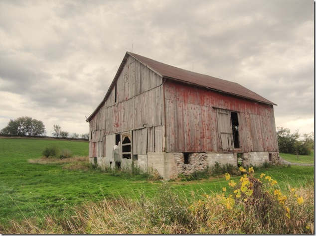 barns, history, Quinte West, vanishing Ontario