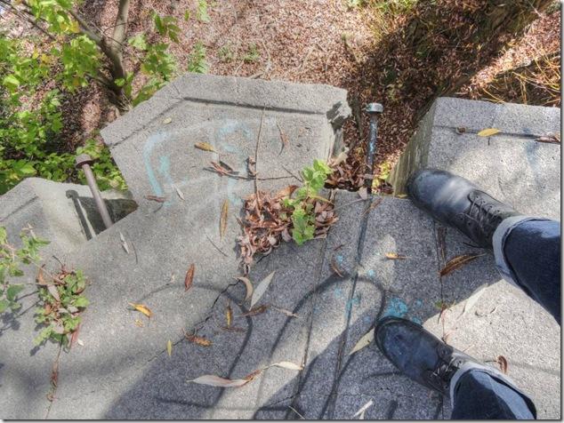Parks Canada,history,shadow,self portrait