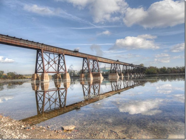 Trenton,Quinet West,Trent Severn Waterway,Trent River,CP,Canadian Pacific
