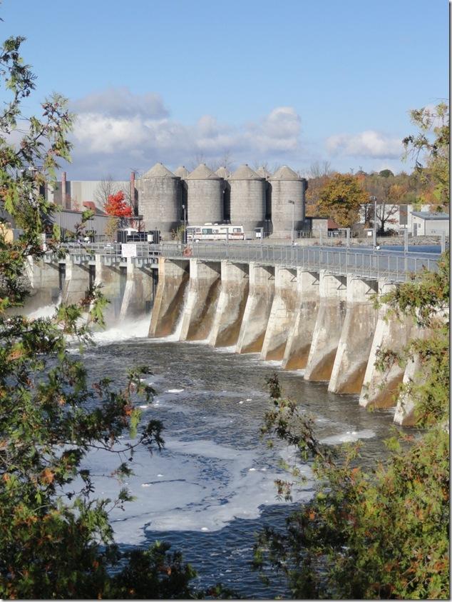 Trent Severn Waterway,Sonoco,Trenton,Quinte West,hydo dam