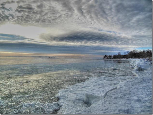 Lake Ontario,Presqu'ile Point,Presqu'ile Provincial Park,ice,great lakes