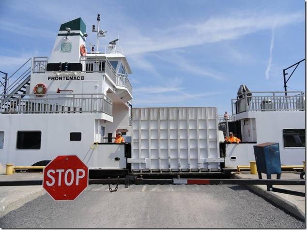 Amherst Island,ferry,Lake Ontario,Frontenac II