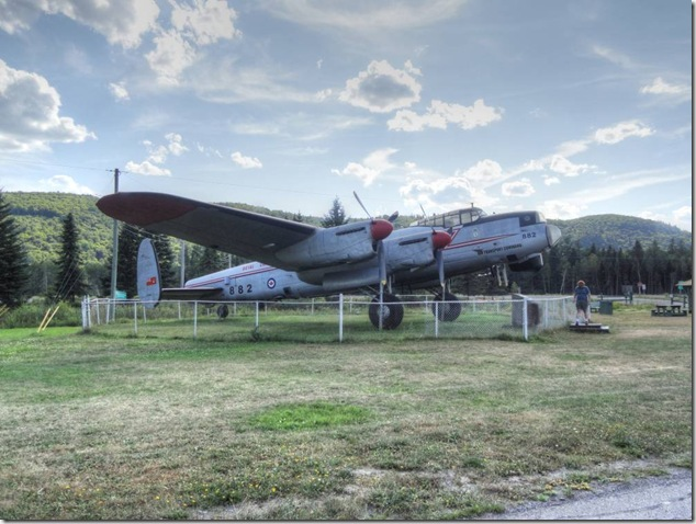 New Brunswick,history,air force,RCAF,Lancaster Bomber