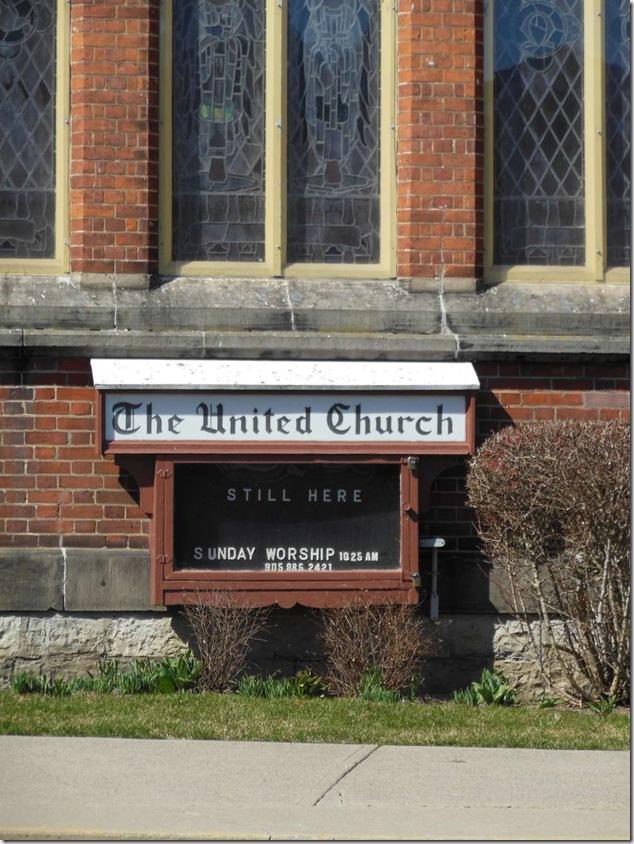 Port Hope United,Port Hope,United Church,St. John's Anglican,Anglican Church