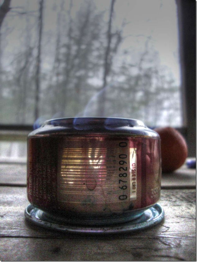 pop can stove