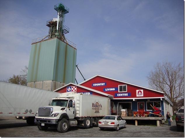 Forfar,Ontario,cheese Forfar dairy,baker's feed store,leeds county