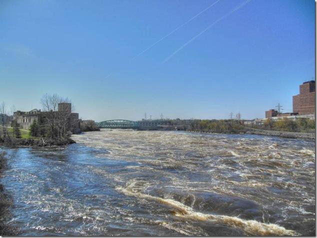 Ottawa River,Hull,Pont du Portage Bridge