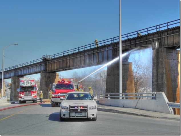Port Hope,trestle,train bridge fire,Canadian Pacific,CP,CN,Canadian National