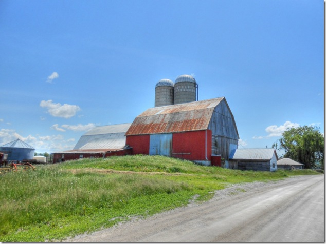 back roads,Ontario,farms,farming,barns,Campbellford, Ontario