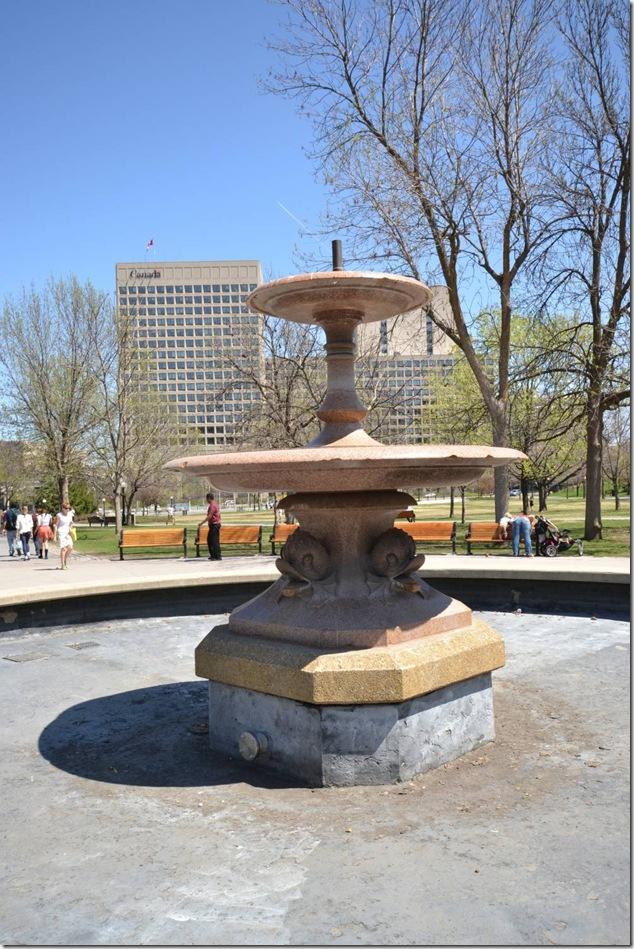 Ottawa,Confederation Park,fountain,Peterhead granite,Colonel John By