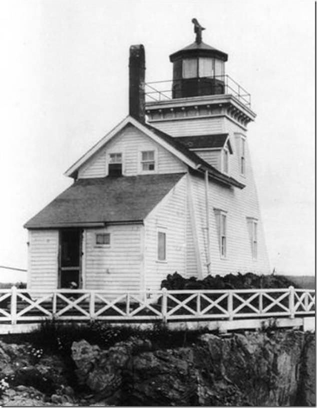 picture courtesy of DF&O, Drews Head Lighthouse,Beaver Harbour,New Brunswick