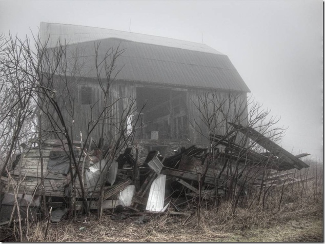 Back Roads Ontario,barns,history