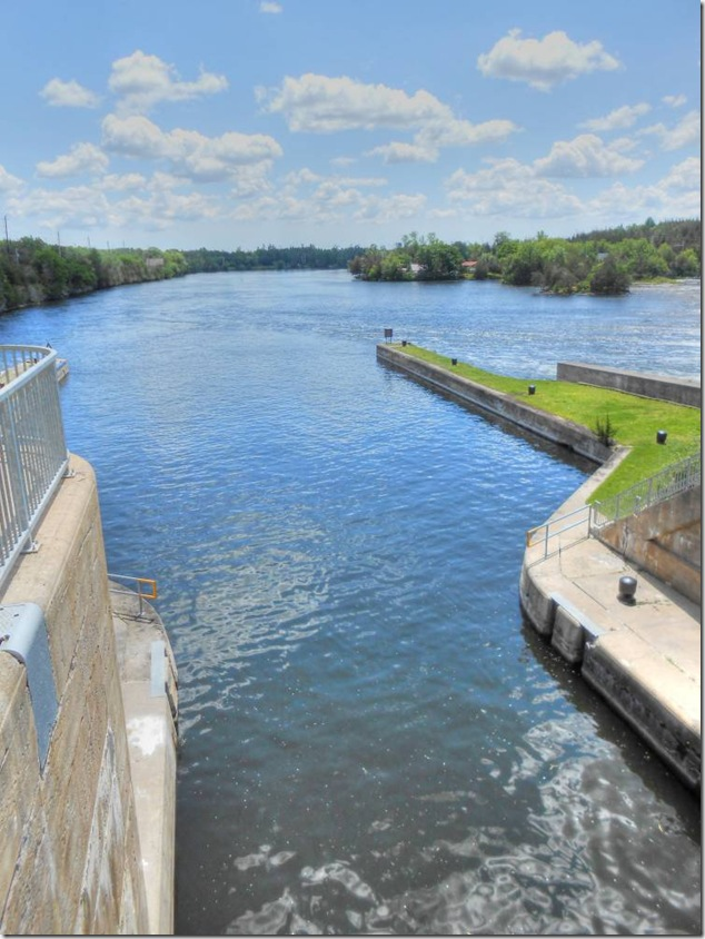 lock 14,Trent Severn,National Historic Site,Parks Canada