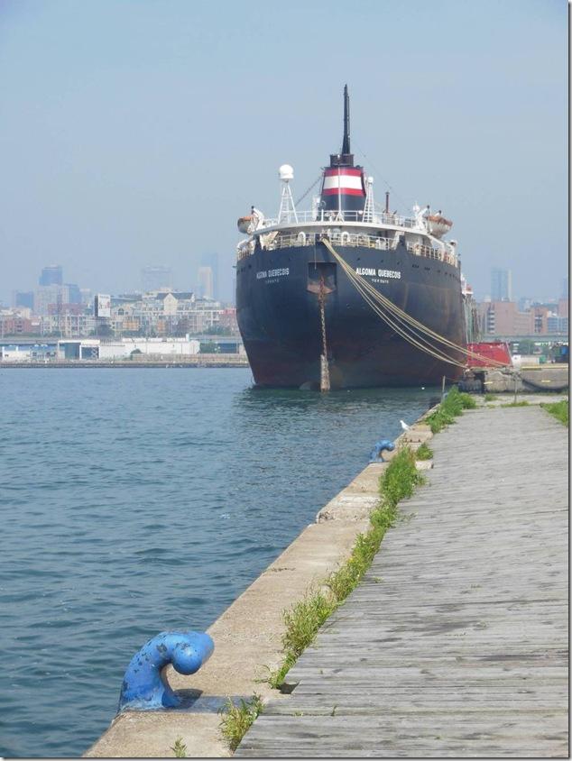 Toronto,Port of Toronto,Great Lakes,Port Lands,shipping,Algoma Quebecois,Lake Ontario