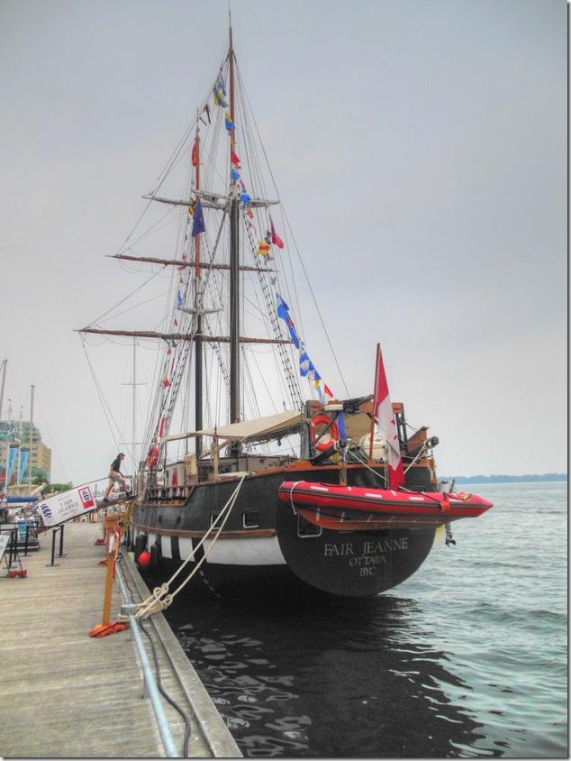 lake ontario, sail, tall ships, Toronto