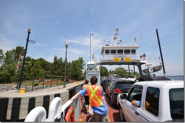 M.V. Glenora,Glenora,Prince Edward County,Adolpustown,CCCP Montreal,cycling,ferry,Lake Ontario,time lapse