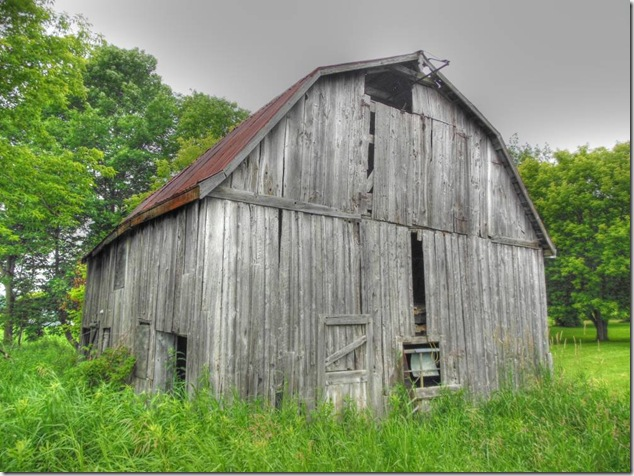 barns,vanishing Ontario,history